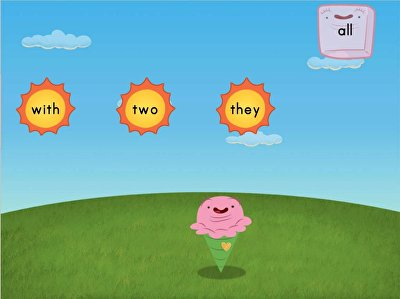 Sight Words Sun Attack: Set 3